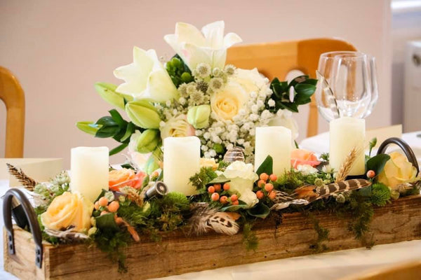 Wedding Flower Crate