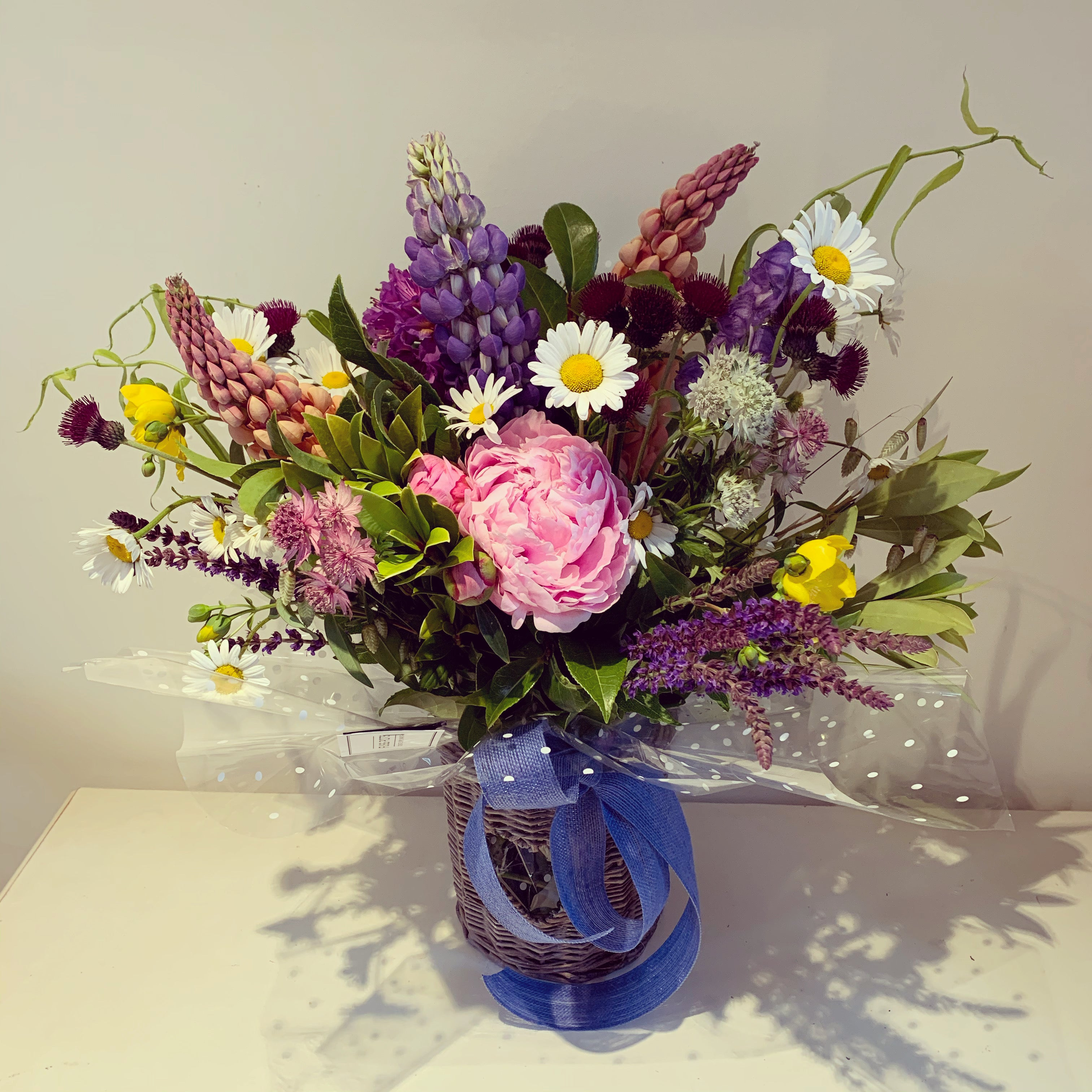 Seasonal Gift Bouquet including container