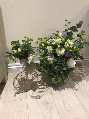 Bicycle Floral Arrangement