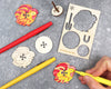 Rooster Animal Spinning Top Kit