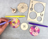 Meadow Bouquet Large Spinning Top Kit
