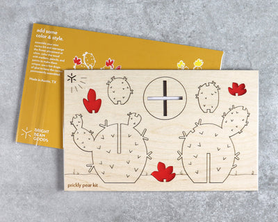Prickly pear cactus kit in packaging