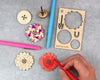 Zinnia Spinning Top Kit