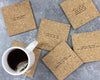 80s mistaken lyrics coasters unpackaged