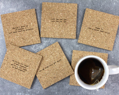 Animal mistaken lyrics coasters unpackaged