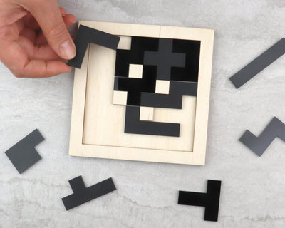 Charcoal Pentomino Puzzle