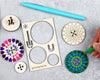 Loop spinning top kit unpackaged