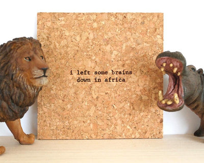 Individual Mistaken Lyrics Coasters
