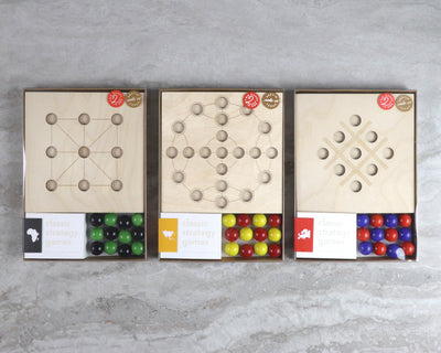 Two Player Marble Game Assortment