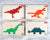 Dinosaur Pentomino Puzzle Assortment