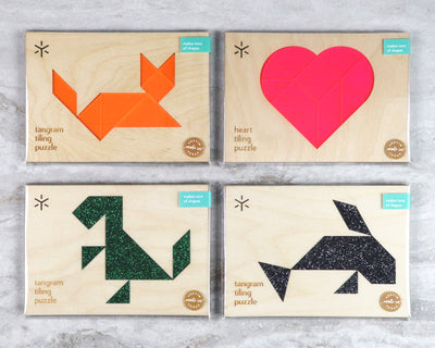 Tangram Puzzle Assortment