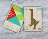 Goose tangram puzzle in packaging
