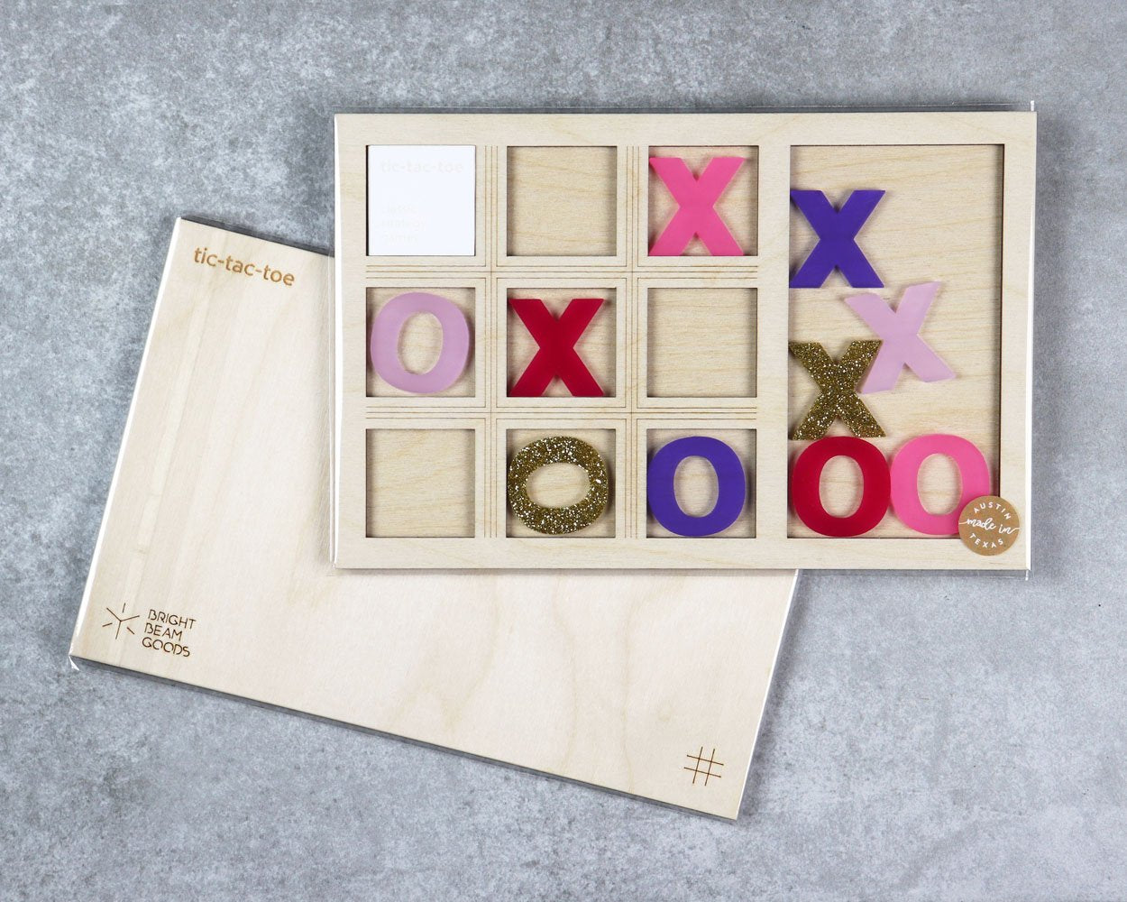 Carnival tic-tac-toe game in packaging