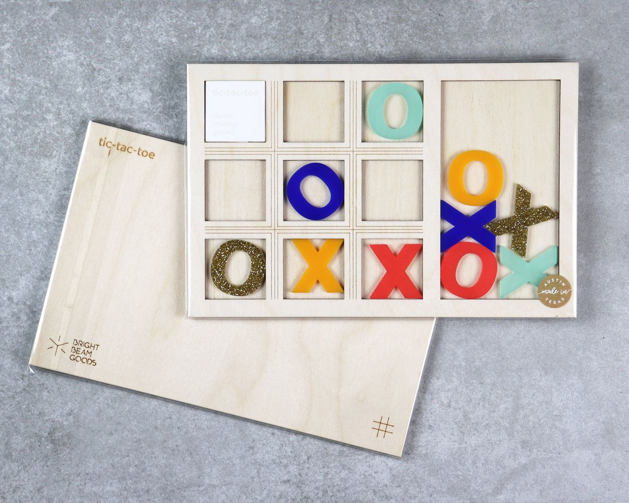 Summit tic-tac-toe game in packaging