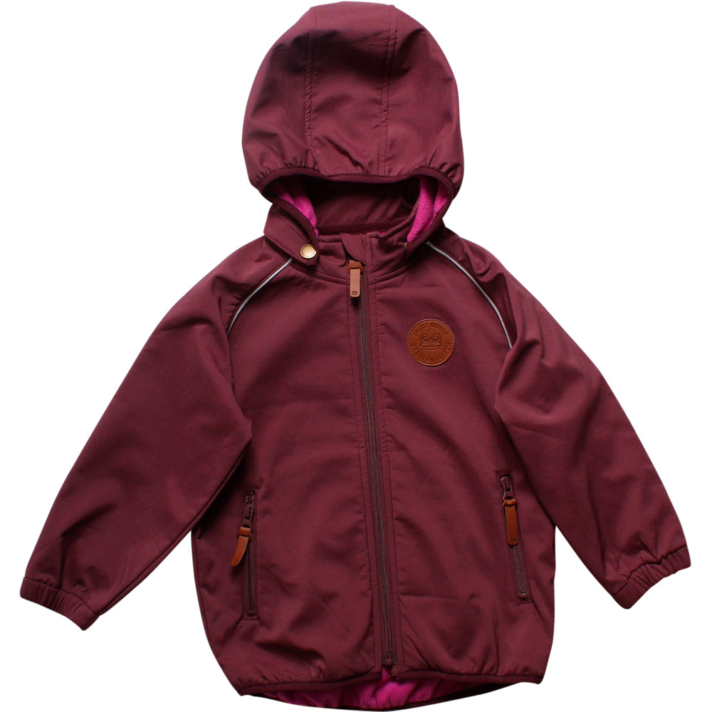 Fred´s World by green cotton Softshell Jacke plum purple