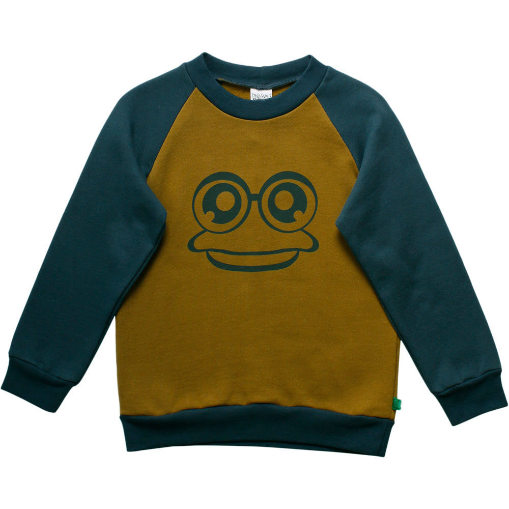 Fred´s World by green cotton Pullover Frosch
