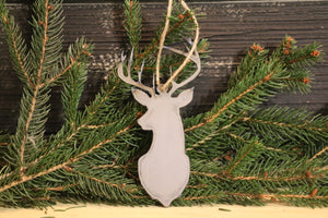 Deer Ornament | Metal Christmas Ornament - CHO1001