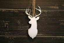 Load image into Gallery viewer, Deer Ornament | Metal Christmas Ornament - CHO1001