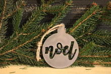 Load image into Gallery viewer, Noel Ball Ornament | Metal Christmas Tree Ornament - CHO1003