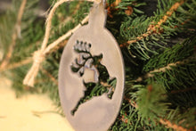 Load image into Gallery viewer, Reindeer Ball Ornament | Metal Christmas Tree Ornament - CHO1004