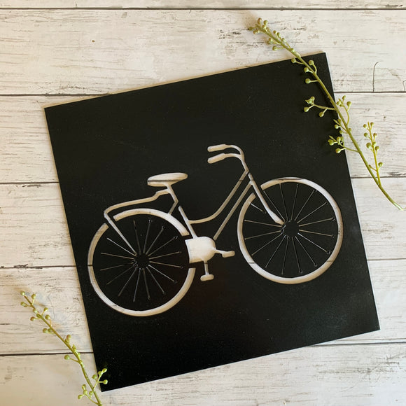 Bicycle Cutout | Metal Sign - HOD1025