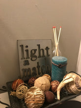Load image into Gallery viewer, Light a Match Bathroom Metal Shelf Sitting Sign BA1005