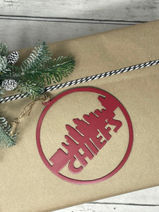 """Dry Off"" Rusted Metal Towel Holder"