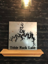 Load image into Gallery viewer, Custom Lake Map of Your Choice | Metal Cutout Sign | LK1002