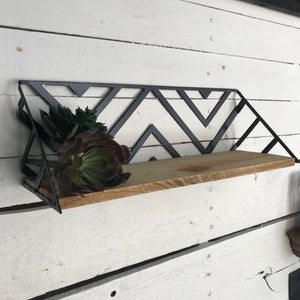 Chevron Wall Shelf - HOD1023
