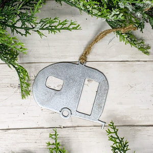 Camper Christmas Ornament | CHO1012 |  Metal Christmas Ornament