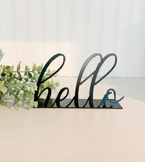 Script Shelf Word - Hello