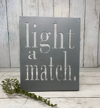 Load image into Gallery viewer, Shelf Words - Funny | Metal Shelf Decor - SD1017