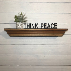 Shelf Words - Spiritual | Metal Shelf Decor - SD1018