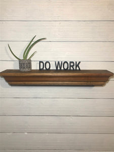 Shelf Words - Inspirational | Metal Shelf Decor - SD1016
