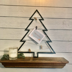 Metal Tree Card Holder