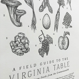 Field Guide to the Virginia Table Poster