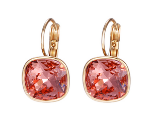 Luxury Earrings Christmas Gifts Crystals from Swarovski Colorful Charm Drop Earrings for Women Gifts WE017 - Styleibuy Online Shop