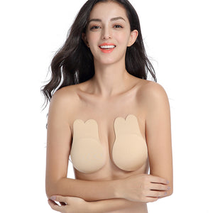 Strapless Bra Self Adhesive Reusable Sticky Silicone Invisible Push Up Bra for Women - Styleibuy Online Shop