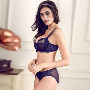 Styleibuy Lace Lingerie Ladies Underwire Floral Large Size Bra Sets - Styleibuy Online Shop
