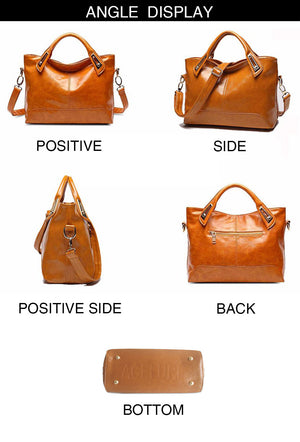 Styleibuy-2019 Women Shoulder Bag Vintage Causal Totes High Quality Dames PU Handbag –BAG077 - Styleibuy Online Shop