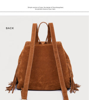 Styleibuy-2019 Women backpack Bag Vintage Causal Totes High Quality velour travel bag -BAG117 - Styleibuy Online Shop