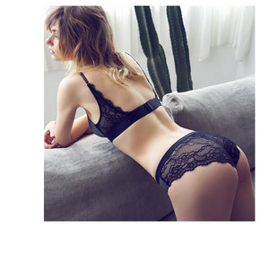 Styleibuy -  Free Gather Lace Underwear Bra Set For Women - Styleibuy Online Shop