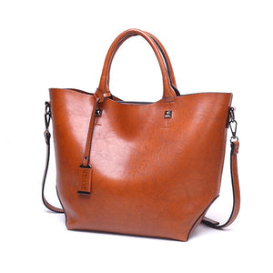Styleibuy-2019 Women Shoulder Bag Vintage Causal Totes High Quality Dames PU Handbag -BAG072 - Styleibuy Online Shop