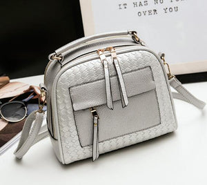 Styleibuy-2019 women Shoulder Bag  fashion  small knitting weave casual cross body messenger bag totes -BAG109 - Styleibuy Online Shop