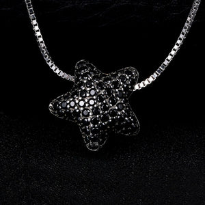 Styleibuy Star 0.6ct Genuine Spinel Pave Pendant 925 Sterling Silver Romantic Jewelry Not Include A Chain gift for women-WN021 - Styleibuy Online Shop