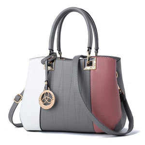 Styleibuy-2019 women Shoulder Bag High Quality  Fashion Patchwork  PU Leather Lady Bag Tote-BAG098 - Styleibuy Online Shop