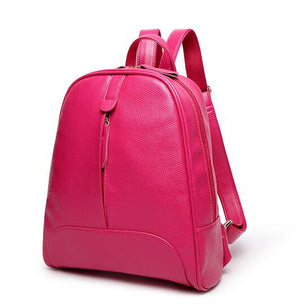 Styleibuy-2019 Women Fashion Backpack PU soft leather casual For Girls -BAG055 - Styleibuy Online Shop