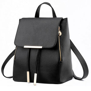 Styleibuy-2019 Women Fashion Backpack PU soft leather casual For Girls -BAG049 - Styleibuy Online Shop