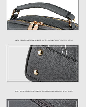 Styleibuy-2019 women Shoulder Bag Leather Vintage Causal Crossbody Bag-BAG107 - Styleibuy Online Shop