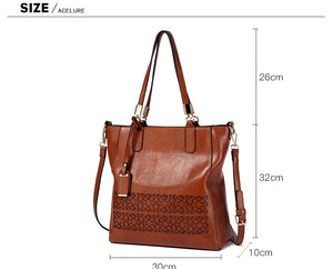 Styleibuy-2019 Women Shoulder Bag Vintage Causal Totes High Quality Dames PU Handbag –BAG075 - Styleibuy Online Shop